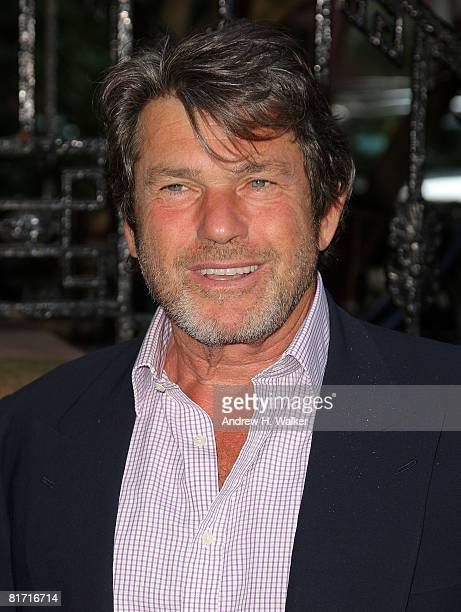 Jann Wenner attends the reception for Gonzo The Life and Work of Dr Hunter S Thompson on June 25 2008 at The Waverly Inn in New York City