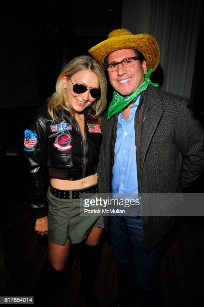 Janna Bullock and Dr Howard Sobel attend R COURI HAY hosts a Vampire Halloween Party at R Couri Hay Residence on October 31 2010 in New York City