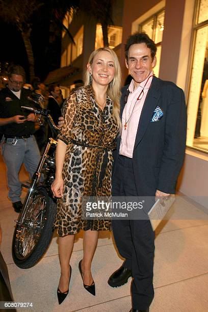 Janna Bullock and R Couri Hay attend RALPH LAUREN and RxART Host an Evening at ART BASEL Miami at Ralph Lauren on December 6 2006 in Miami Beach FL
