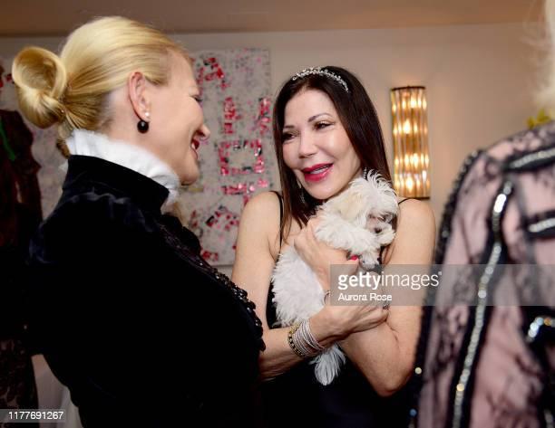 Janna Bullock Jane Scher and Botox attend Jane Scher's birthday party at Le Bilboquet on October 22 2019 in New York City