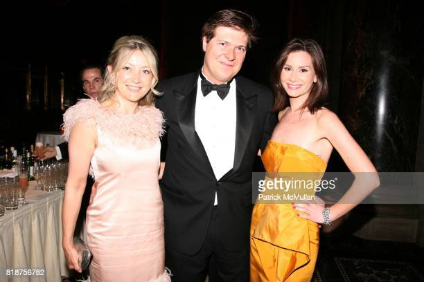 Janna Bullock Mark W Smith and Rebecca Jarvis attend The American Theatre Wing's 2010 Annual Spring Gala at Cipriani's 42nd St on June 7 2010 in New...