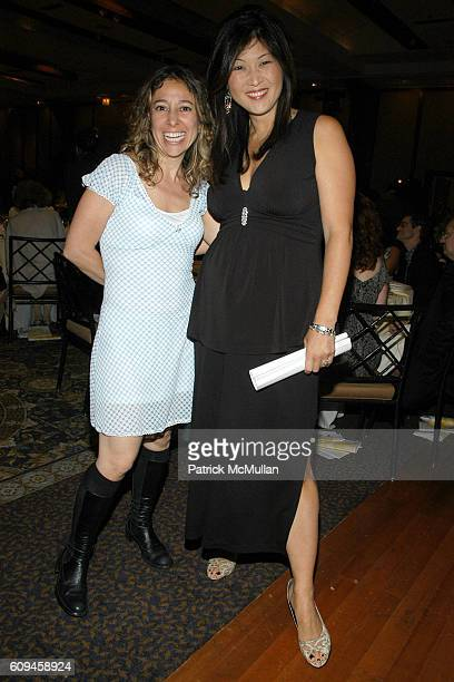 Janna Levin and Juju Chang attend BARNARD COLLEGE Spring Gala at Pier 60 on June 12 2007 in New York City