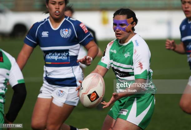 Janna Vaughan of Manawatu during the round 5 Farah Palmer Cup match between Manawatu and Auckland at Central Energy Trust Arena on September 29, 2019...
