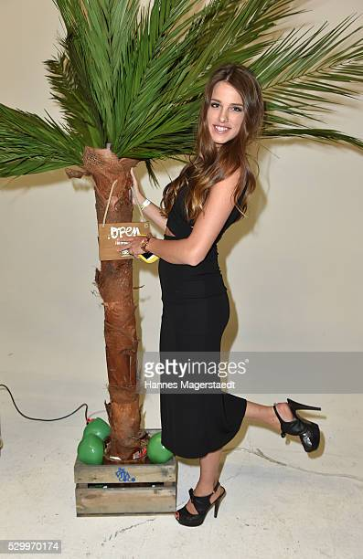 Janna Wiese during the VDMD Secret Fashion Show at ars24 on May 9 2016 in Munich Germany