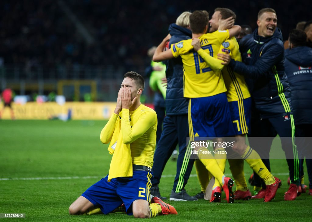 Italy v Sweden - FIFA 2018 World Cup Qualifier Play-Off: Second Leg : News Photo