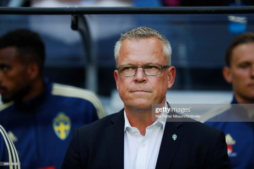 Sweden v Denmark - International Friendly : Fotografía de noticias
