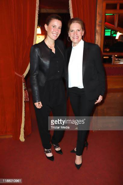 Janne Meyer and Cornelia Poletto at the Polettos Palazzo at Spiegelpalast on November 15 2019 in Hamburg Germany