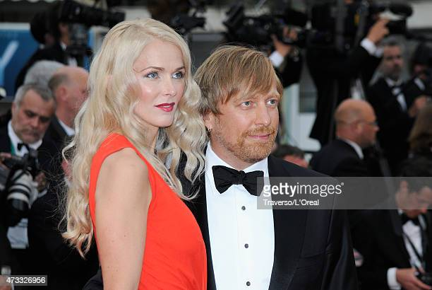 Janne Tyldum and Morten Tyldum attend the premiere of Mad Max Fury Road during the 68th annual Cannes Film Festival on May 14 2015 in Cannes France