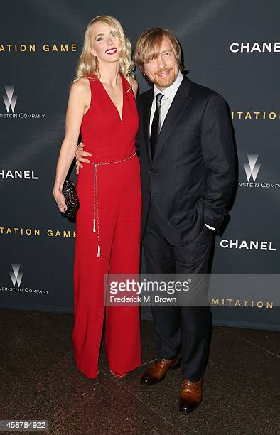 Janne Tyldum and Morten Tyldum attend the screening of The Weinstein Company's The Imitation Game hosted by Chanel at the Directors Guild of America...
