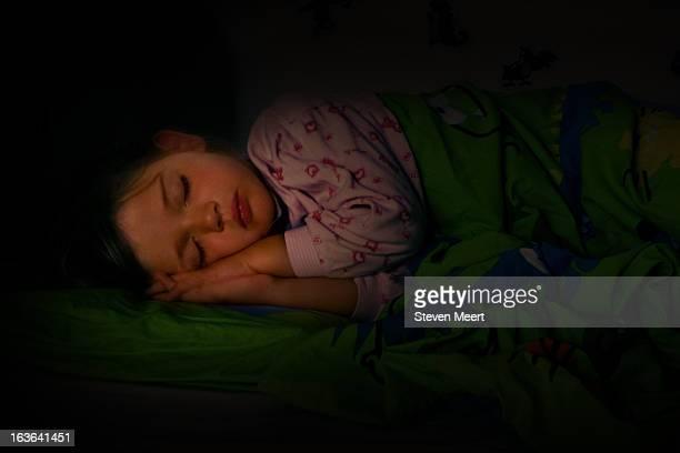 Janneke sleeping