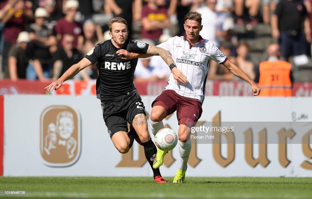 BFC Dynamo v 1 FC Koeln - DFB CUP