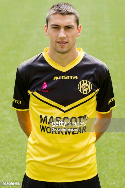Jannes Vansteenkiste of Roda JC during the Photocall Roda JC at the Parkstad Limburg Stadium on July 12 2018 in Kerkrade Netherlands