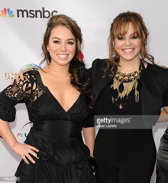 Janney 'Chiquis' Marin and singer Jenni Rivera attend 'An Evening With NBC Universal' at The Cable Show 2010 at Universal Studios Hollywood on May 12...