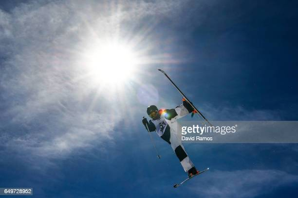 Jannick Fjeldsoe of Norway competes in the Men's Moguls qualification on day one of the FIS Freestyle Ski Snowboard World Championships 2017 on March...