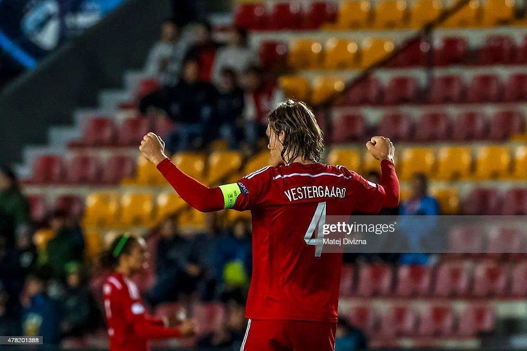 Denmark v Serbia - UEFA Under21 European Championship 2015