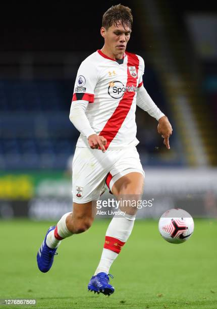 Jannik Vestergaard of Southampton during the Premier League match between Burnley and Southampton at Turf Moor on September 26 2020 in Burnley...