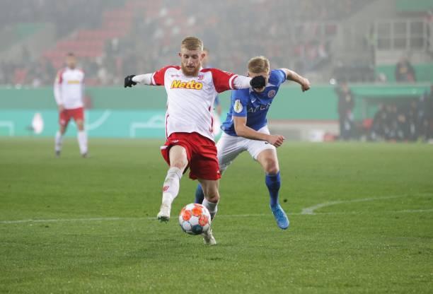 DEU: Jahn Regensburg v Hansa Rostock - DFB Cup: Second Round