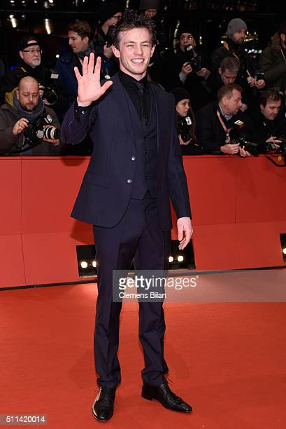 Jannis Niewoehner attends the closing ceremony of the 66th Berlinale International Film Festival on February 20 2016 in Berlin Germany