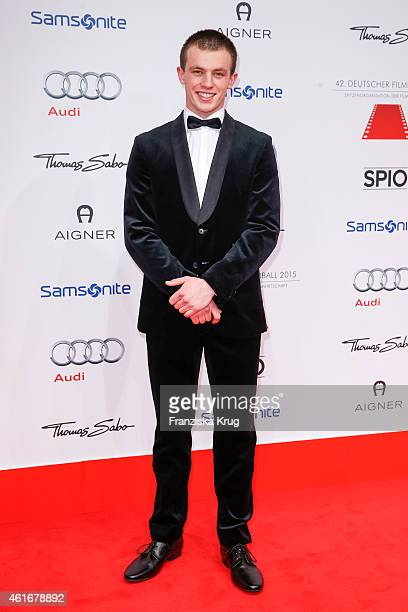 Jannis Niewoehner attends the German Film Ball 2015 on January 17 2015 in Munich Germany