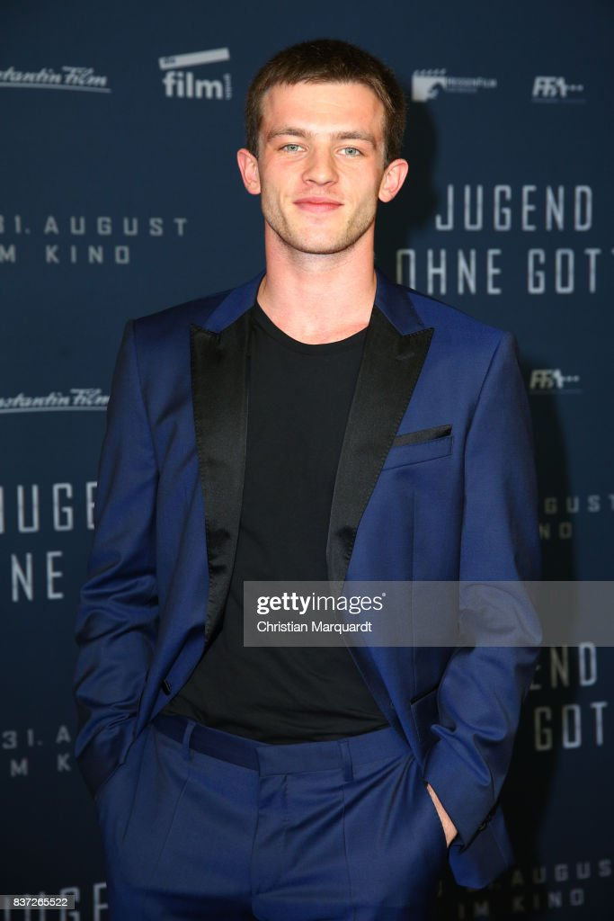 Jannis Niewoehner attends the premiere of 'Jugend ohne Gott' at Zoo Palast on August 22, 2017 in Berlin, Germany.