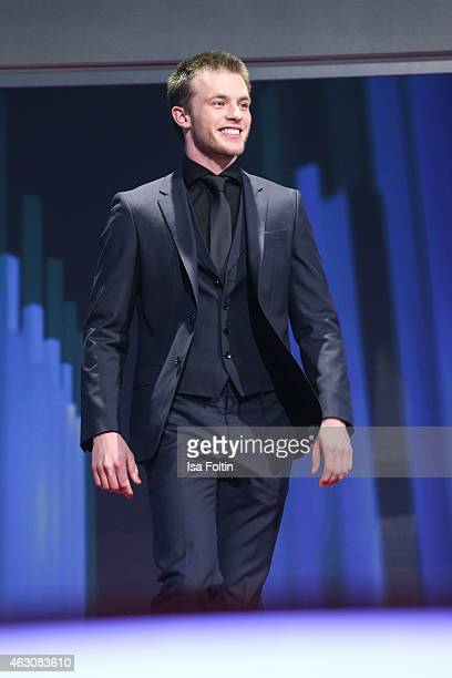 Jannis Niewoehner attends the Presentation of European Shooting Stars 2015 during the 65th Berlinale International Film Festival at Berlinale Palace...