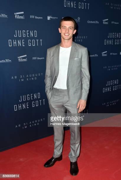 Jannis Niewoehner during the 'Jugend ohne Gott' premiere at Mathaeser Filmpalast on August 21 2017 in Munich Germany
