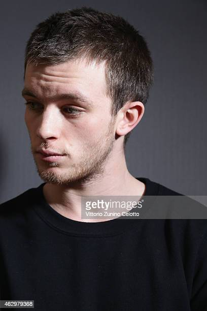 Jannis Niewoehner during the Shooting Stars 2015 Portrait Session at the 65th Berlinale International Film Festival at Ritz Carlton on February 8...