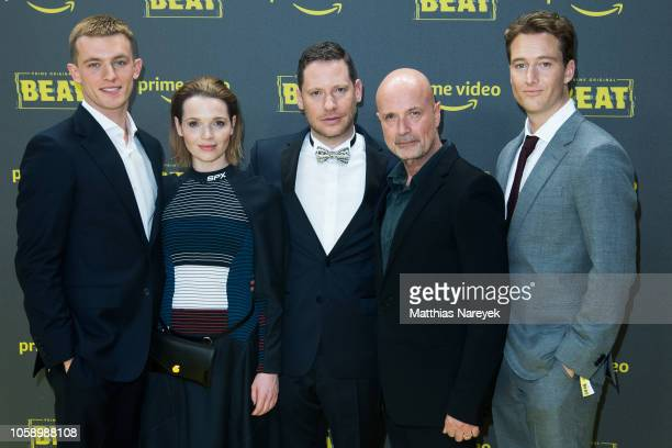Jannis Niewoehner Karoline Herfurth Marco Kreutzpaintner Christian Berkel and Alexander Fehling attend the premiere of the Amazon Original Series...