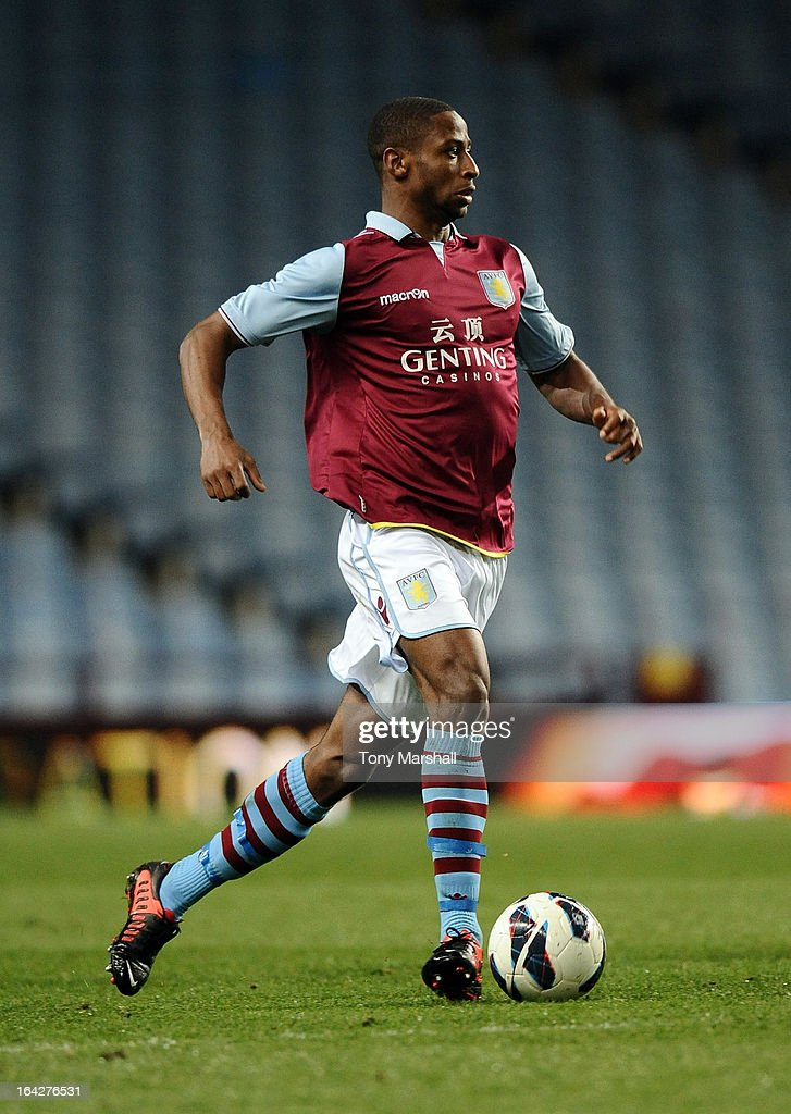 Aston Villa U19 v Olympiacos U19 - NextGen Series Quarter Final : News Photo
