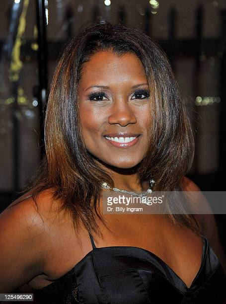 Janora McDuffie attends the 10th Annual Heroes in the Struggle Gala at the Avalon on December 1 2010 in Hollywood California