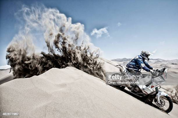 Janos Desi of Hungary for KTM Arrabona MSE competes in stage 9 during Day 10 of the 2014 Dakar Rally on January 14 2014 in Iquique Chile
