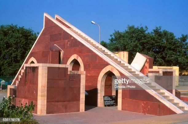 jantar mantar in jaipur, rajasthan, india. - ジャンタルマンタル ストックフォトと画像