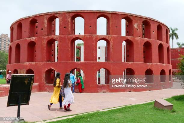 Jantar Mantar in New Delhi India consists of 13 architectural astronomy instruments Built by Maharaja Jai Singh II of Jaipur from 1723 onwards as he...