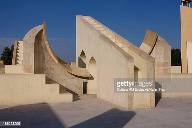 Jantar Mantar, observatories in Jaipur, Rajasthan, India