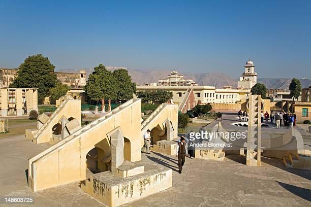 Jantar Mantar stone observatory built in 1728-1734.