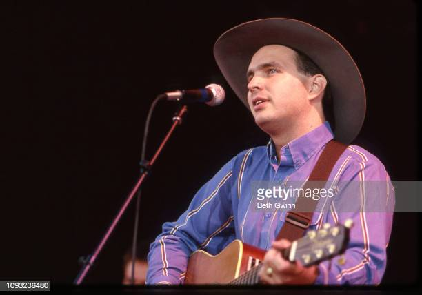 Country Music Singer Songwriter Garth Brooks performs for the Parade of Pennies on January 1 1989 in Nashville Tennessee