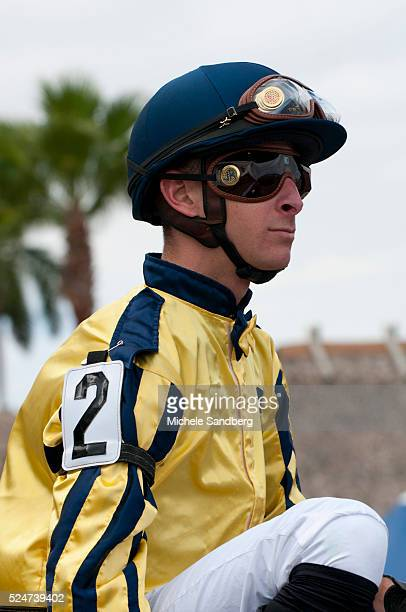 January 1 2013 JOCKEY JOSEPH ROCCO JR The 34th Running Of The Old Hat Gulfstream Park Horse Racing On New Years Day