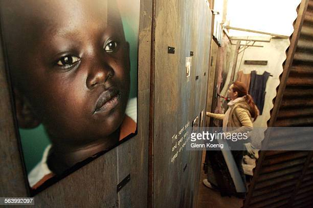 January 10, 2007. The World Vision Experience: AIDS – Step Into Africa will open on January 11, 2007 at the Crystal Cathedral. The above photo is of...