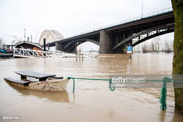January 10th Nijmegen The water level in the Rhine near the border with Germany was higher than expected on Tuesday as rain and melting snow from the...