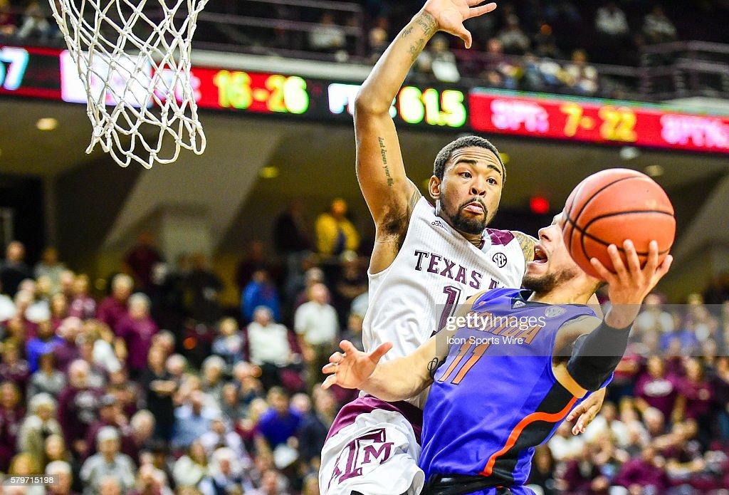 NCAA BASKETBALL: JAN 12 Florida at Texas A&M : News Photo