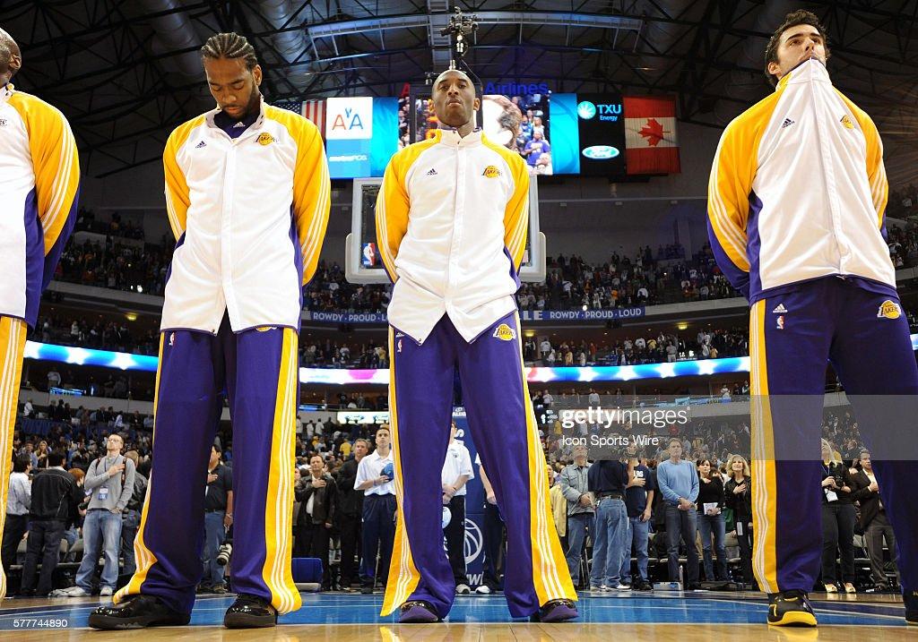 NBA: JAN 13 Lakers at Mavericks : News Photo