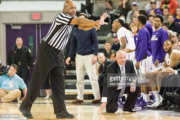 January 13 2016 East Carolina head coach Jeff Lebo in a game between the East Carolina Pirates and the SMU Mustangs at Williams Arena at Minges...