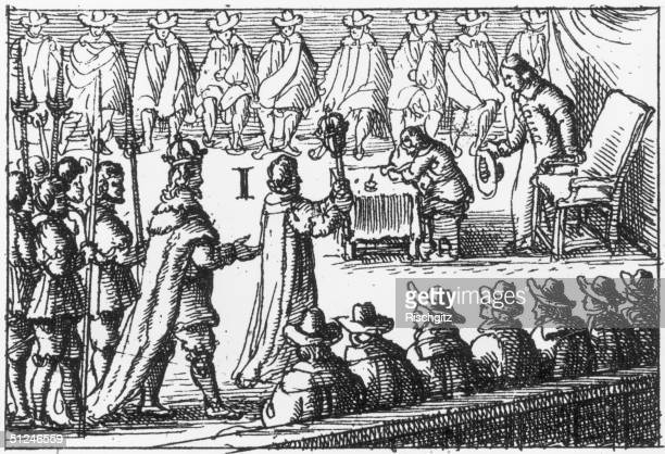 January 1642 King Charles I entering the House of Commons with a body of armed men in an attempt to seize five members who objected to his reforms of...