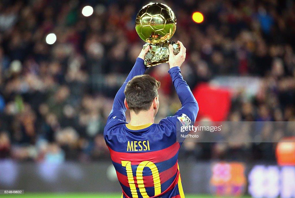 Messi Golden Ball : News Photo