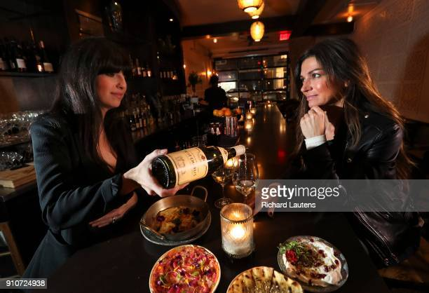 TORONTO ON January 17 The Toronto Star's wine writer Carolyn EvansHammond is seen at Bar Sybanne in the Dundas and Ossington area with the low...