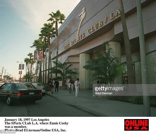 January 18 1997 Los Angeles The Sports Club LA Where Ennis Cosby Was A Member