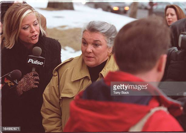 January 19 2001 Tyne Daly was Al Waxman's costar in the popular TV series Cagney and Lacey TONY BOCK/TORONTO STAR