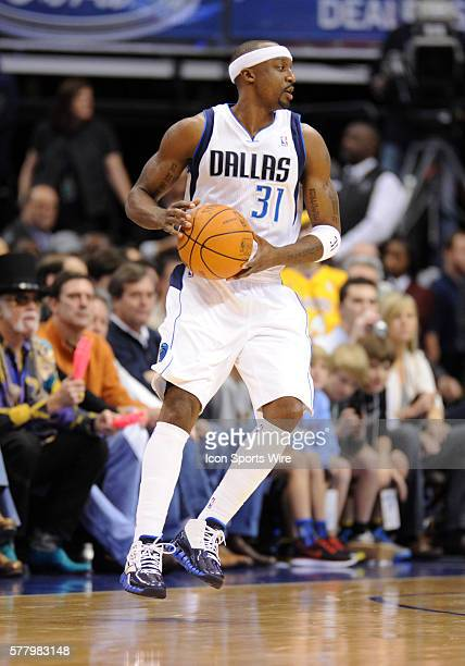 Dallas Mavericks shooting guard Jason Terry in an NBA game between the Los Angeles Lakers and the Dallas Mavericks at the American Airlines Center in...