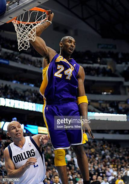 Los Angeles Lakers shooting guard Kobe Bryant finished with 21 points in an NBA game between the Los Angeles Lakers and the Dallas Mavericks at the...