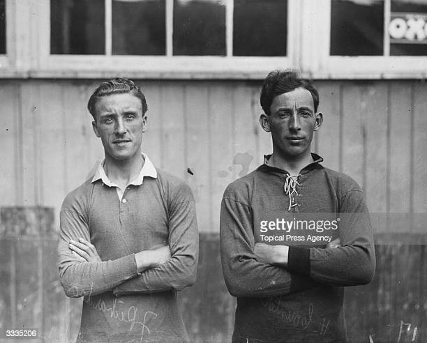 J Richardson and H Counter of Plymouth Argyle Football Club